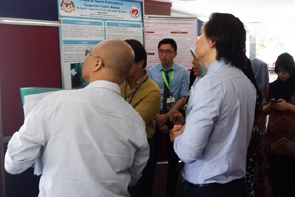Figure 5: Poster judging session of the 7th National Paediatric Research conference 14th March 2015